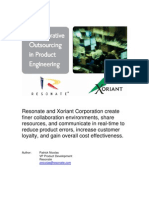 Collaborative Outsourcing in Product Engineering