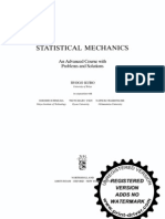 Reif Fundamentals of Statistical and Thermal Physics