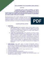 Activos, Capital y Estructura de des - Curso