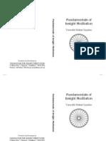 Fundamentals of Insight Meditation