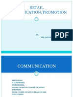 Retail Communication-promotion Module 2003