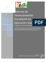 Informe Financiamiento