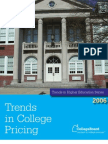 Trends College Pricing 06