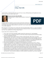 Twelve Steps for Choosing a Specialty Friendly)