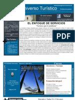 El enfoque de Servicios. Boletín Universo Turistico 01 2011