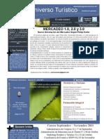 Mercadeo 1.0, 2.0 y 3.0. Boletín Universo Turistico 07 2011