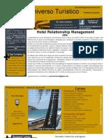 "Hotel Relationship Management ""HRM"". Boletin Universo Turistico 08 2010"