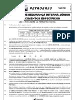 Inspetor de Seguranca Interna Junior 2010 Cesgranrio