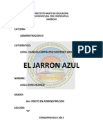 Resumen Del Jarron Azul