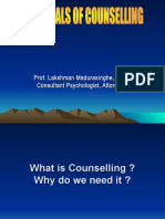 Essentials of Counselling