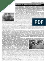 Breve reseña del accionar del aparato represivo en Mza
