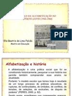 História da Alfabetização no ES