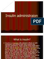 Insulin Administraion