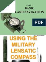 Land Navigation Part 1