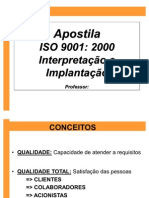 Interpretacao e Implantacao ISO-9001
