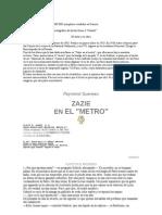 Queneau Raymond - Zazie en El Metro