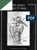 Dos Violines Para 24 Tangos