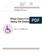 Wheel Chairs in India_ 'Abling' the Disabled!