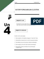 Teknologi Elektrik 1 E1063 -Unit 4