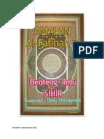 Al-fatihah 7 (Benteng Ilmu Sihir)