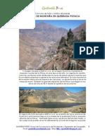 Paisajes de Montaña en Quebrada Potaca