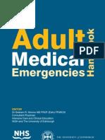 Adult Medical Emergencies Handbook