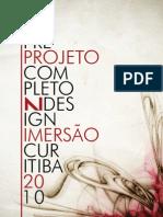 Pré-Projeto de Candidatura N Design Imersão (jan2009)