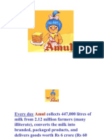 Scm Project Amul Final Ppt