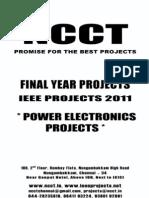 Power Electronics Project List