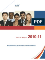 3i Infotech Annual Report 2011