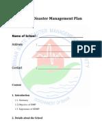 BSDMA School Disaster Management