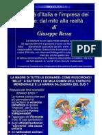 Giuseppe Ressa - L'unità d'Italia e l'impresa dei mille - Dal mito alla realtà