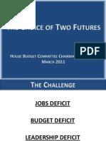 The Real U.S. Budget 2011-2080