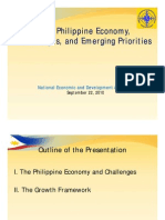 PH Economy Challenges Emerging Priorities