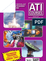 ATI Short Technical Development Courses Catalog on Acoustics Sonar Engineering Radar Missile Defense Vol107