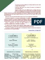 Monnier - La Camorra - Origini - In Francese-Italiano