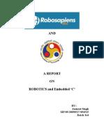 Robo Report for Robosapiens
