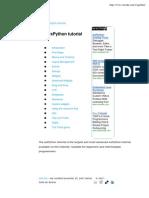 The WxPython Tutorial