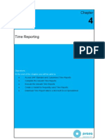 Time Management Training Guide Time Reports