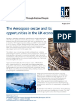 The Aerospace sector and its opportunities in the uk economy