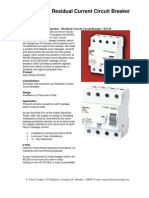 1 Residual Current Circuit Breaker (RCCB) ( ELCB)