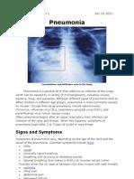 Pneumonia Report 1