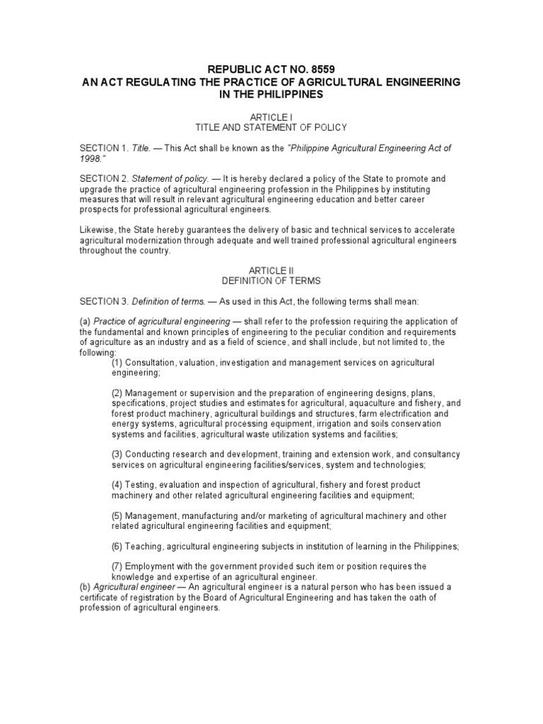 ra8559 | licensure | engineer