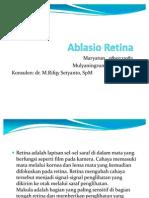Ablasio Retina Ppt