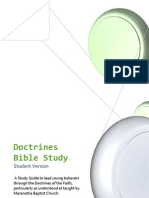 Formatted Theology Bible Study - Student Edition