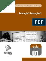 Fundamentos Sócio-filosóficos da Educação - Aula 01 - 691