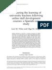 Villar y Alegre 2007 International Journal of Training and Development