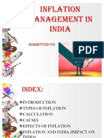 Inflation Management in India