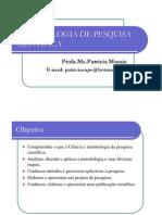 METODOLOGIA DE PESQUISA CIENTÍFICA A1 [Modo de Compatibilidade]