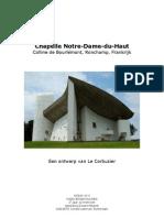 Le Corbusier & Chapelle de Ronchamps